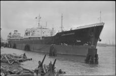 25160-6-3 De tanker Carbo Seahorse te Rotterdam.