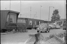 25400-5 Het woonwagencentrum De Kievit aan de Sevenaerstraat (Beverwaard), op de grens met Bolnes.