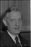 25449-6-6 Portret van drs. B.J. Udink, oud-minister en lid van de raad van bestuur van de OGEM.