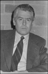 25500-7-4 Portret van prof. D.A.M. Meeles, hoogleraar belastingrecht.