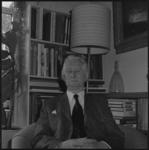 25620-1-9 Portret van de logopedist en muziekcriticus G.M. Dersjant.