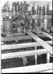 25957-2-23 De machinekamer van het museumschip de Buffel.