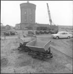 25983-2-9 De watertoren in Katwijk aan de rand van de Zuidduinen.