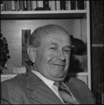 26107-1-4 Portret van prof. dr. E. Diemer, tot 1971 hoofdredacteur van De Rotterdammer, Nieuwe Haagse Courant, Nieuwe ...