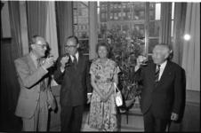 26137-5-26 Bijeenkomst in het stadhuis ter gelegenheid van het 175-jarig bestaan van de Kamer van Koophandel met Prins ...