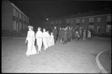 304622-27 Het Luciafeest in Abbenbroek.