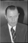 304769-41 Portret van Willem Anthonius (Willem) Fibbe, fractielieider van de Anti Revolutionaire Partij in de ...