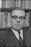 305466-31 Drs. Jan Reehorst na zijn benoeming op 09-02-1967 als wethouder van Financiën en Kunstzaken.