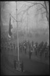 3055 Vlaggenparade Korps Mariniers bij het Westplein
