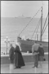306105-34 Het passagiersschip ss Statendam vaart tijdens de viering van het HAL-jubileum langs de boulevard van ...