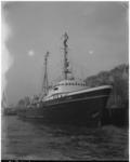 3079 De sleepboot 'Elbe' van L. Smit Internationale Sleepdienst- aan de Parkkade.