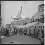 3171-1 Aankomst van het BBC-orkest met de veerboot in Hoek van Holland