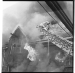 3212 Uitslaande brand in het pand van de Rotterdamsche Melkinrichting (RMI) aan de Persoonshaven.