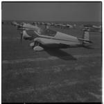 3256 Deelnemers aan de eerste na-oorlogse vliegrally van de Fédération Aéronautique Internationale.