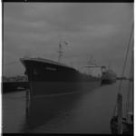 3278 Tankschip Tamara, het eerste schip met draadloos werkend telexapparaat aan boord.