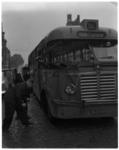 3323 Beschadigde RET-bus lijn 50 op Westzeedijk.