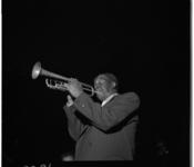 3386 Amerikaanse trompettist Nelson Williams in het Openluchttheater Dijkzigt.