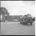 3411 Tankwagen voor huisbrandolie van PAM voor het bedrijfspand PAM Transport Olie in Pernis.
