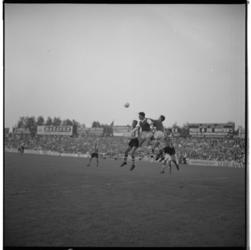 3443-2 Wedstrijdmoment Sparta-Arsenal op Kasteel in Spangen.
