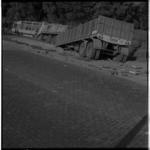 3489-1 Aanrijding op de Kralingse Plaslaan tussen een vrachtautocombinatie en een stilstaande autobus.