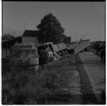 3489-2 Aanrijding op de Kralingse Plaslaan tussen een vrachtautocombinatie en een stilstaande autobus.