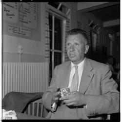 3496 Voorzitter C.J.R. Kieboom van voetbalclub Feyenoord.