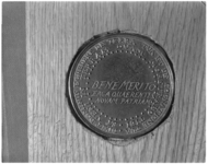 3513-2 Achterkant munt van ontdekkingsreiziger Olivier van Noort.