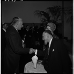3545-2 Felicitaties van Commissaris der Koningin in Zuid-Holland, mr. J. Klaasesz, na installatie van nieuwe ...