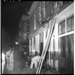 3577 Woningbrand door brandstichting in de Gouvernestraat.