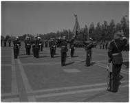 3582-1 Beëdiging officieren van het Korps Mariniers bij de Van Ghentkazerne.