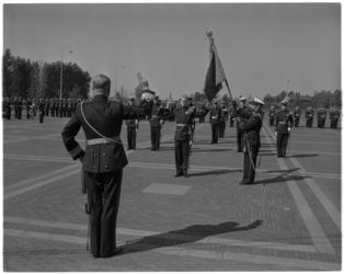 3582-2 Beëdiging officieren van Korps Mariniers bij de Van Ghentkazerne.