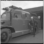 3586-2 Brandweerwagen van brandweer Spijkenisse.