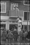 3856-1 Rampenoefening Rode Kruis in Schiebroek.