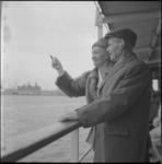 4021 Oude man, Hendrik Ballij uit Diepenveen, die 2,50 per maand verdiende op vakantie in Rotterdam.