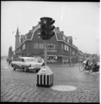 4165-1 Verplaatsbaar verkeerslicht op de kruising Rozenlaan - Kleiweg - Uitweg.