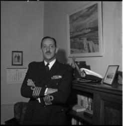 4197 Portret van de commandant van het Korps Mariniers, generaal-majoor der mariniers J.G.M. van Nass.