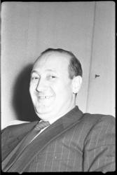 4345 Portret van de Franse consul A. Bernard.