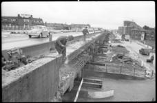4417 Verbreding van het viaductdeel over de Rotterdamse Schie ter hoogte van Oost-Sidelinge, richting Doenkade.