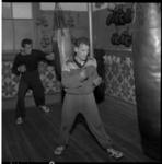 4425-1 Nederlandse boksers trainen in Rotterdam voor de Olympische Spelen in Rome