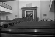 4710-1 Interieur synagoge aan het A.B.N. Davidsplein 2 (nabij Paetsstraat en Bentincklaan.)