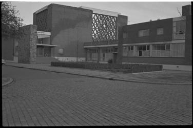 4710-2 Exterieur synagoge aan de Bentincklaan.