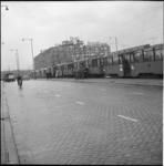 4899 Allan-tramrijtuigen staan stil op het Weena.