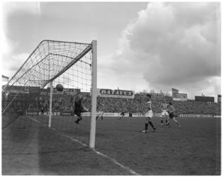 511-1 Spelmoment uit de voetbalwedstrijd Sparta - Willem II.