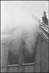 5273 Brand in hoekpand Goudse Rijweg- Hugo de Grootstraat.