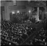 531 Interieur van de Koninginnekerk tijdens de viering van het vijftig jarig bestaan.