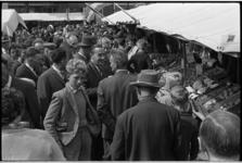 5514 Grote drukte van bezoekers aan de Jaarmarkt in Berkel.