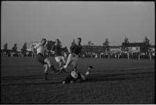 5605 Nieuwe voetbalaccommodatie van v.v. Spijkenisse in Spijkenisse (noord).