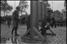 5616 Jeugdbrandweerwedstrijd op de Sint-Jacobsplaats bij de Goudsesingel.