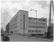 579 Exterieur van het nieuwe hoofdkantoor van de Spaarbank te Rotterdam aan de Botersloot.