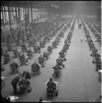 6150 Groot overzicht tijdens examen van 770 kandidaten voor het Vakdiploma Aannemer in Ahoy-complex.